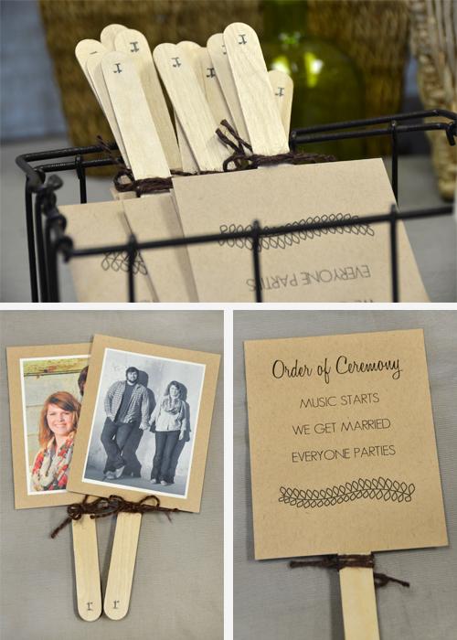 Craft Stick Wedding Inspiration