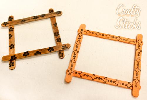 Popsicle Stick Craft Ideas from CraftySticks.com