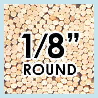 Wood Dowels -Round 1/8