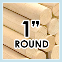 Wood Dowels -Round 1