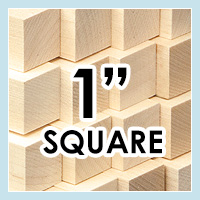 Wood Dowels -Square 1