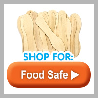 Food Safe Wood Sticks