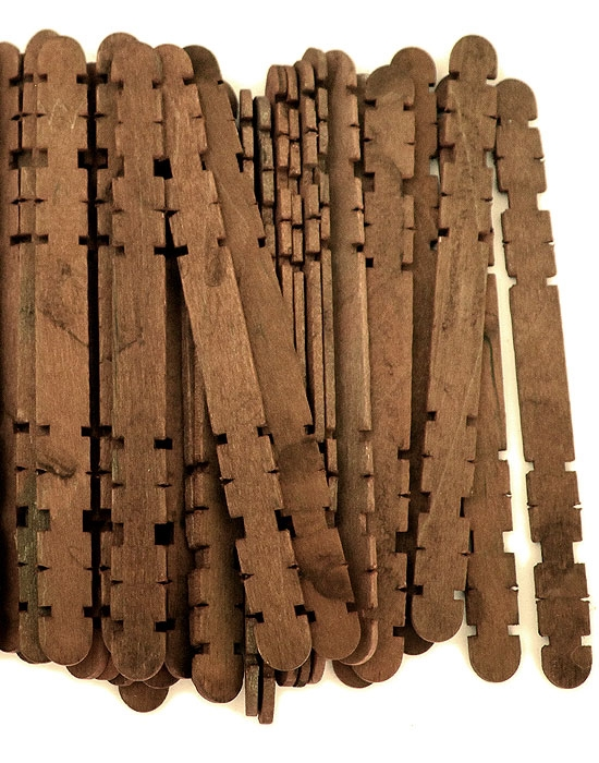 Hobby Craft Sticks -Brown