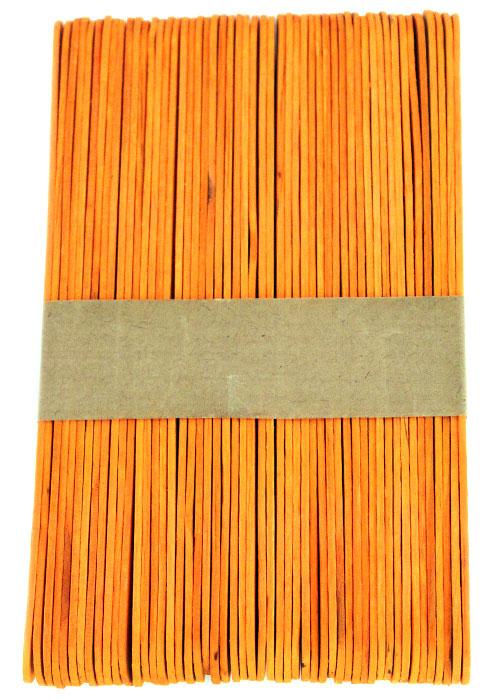 Jumbo Orange Craft Sticks