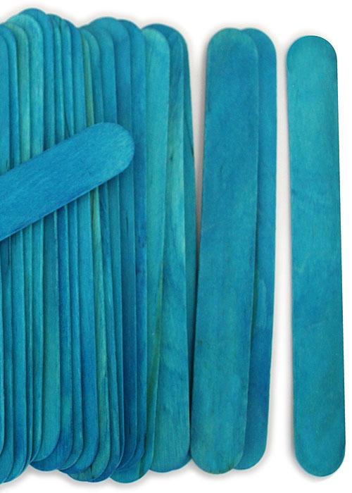 blue craft sticks