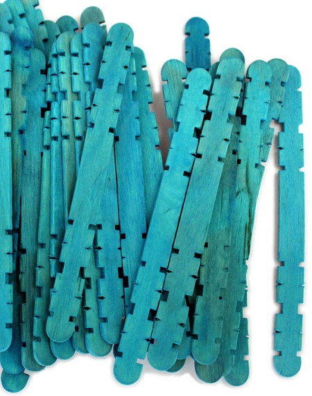 Hobby Craft Sticks -Blue