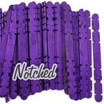 Hobby Craft Sticks -Purple