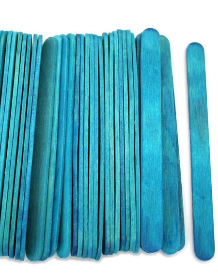 "4 1/2"" Standard Craft Sticks -Blue"
