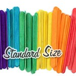 Standard Craft Sticks -Multi Color Pack