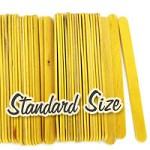 Standard Craft Sticks -Yellow