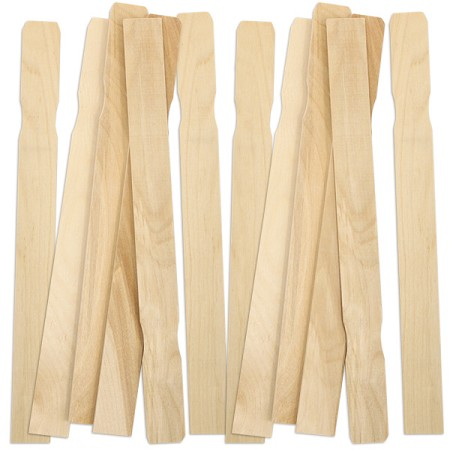 Wood Paint Stir Sticks -Natural
