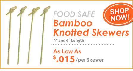 Knotted Bamboo Picks at Crafty Sticks!