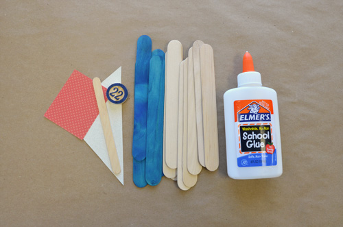 heres what youll need to gather 12 jumbo craft sticks