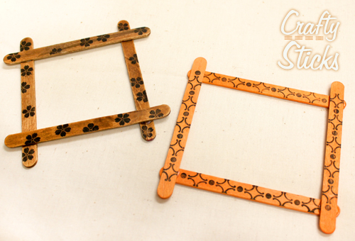 Photo Frame With Ribbon Hanger