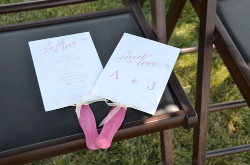 Wedding Fan Sticks