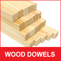 Wooden Dowel Sticks