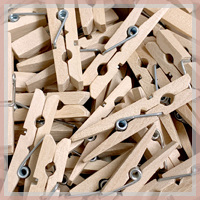 Wood Clips