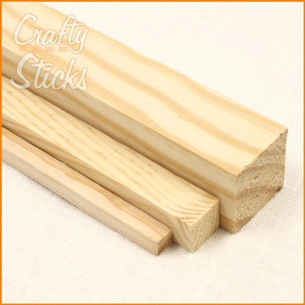 Square Wooden Dowel Sticks 14 Inch At Crafty Sticks