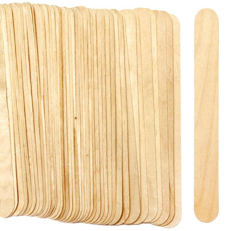 oversized 8 jumbo natural color wooden craft sticks