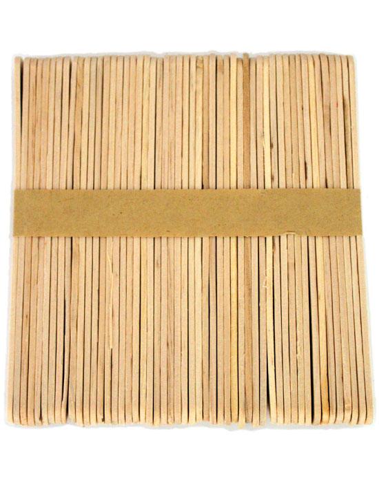 Standard Size Natural Wood Craft Sticks