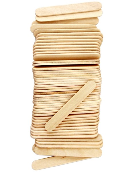 "2 1/2"" Standard Craft Sticks -Natural"