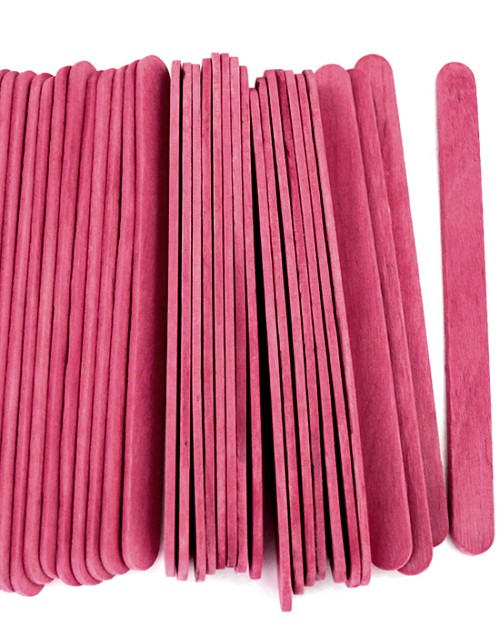 "4 1/2"" Standard Craft Sticks -Rose"